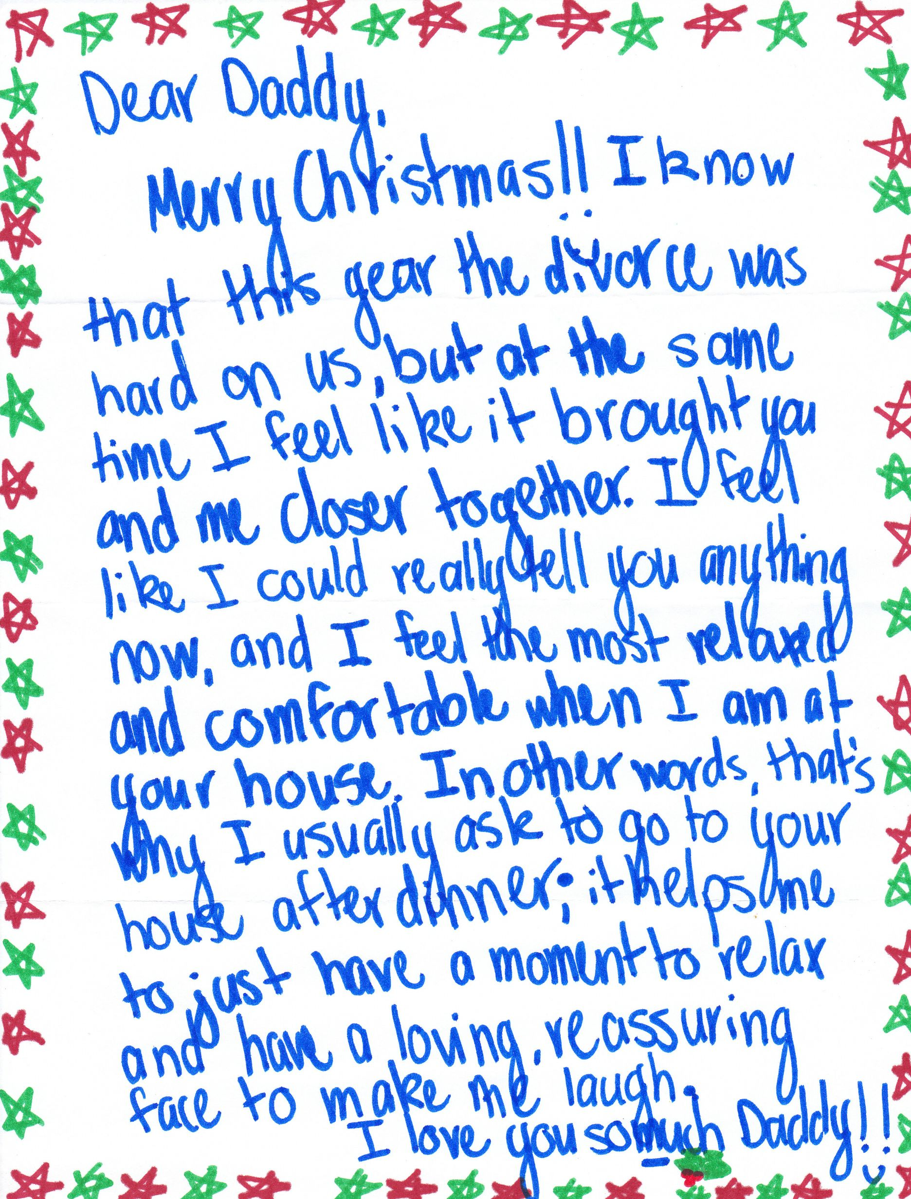 This Christmas Letter From A Daughter To Her Dad Proves The Best ...